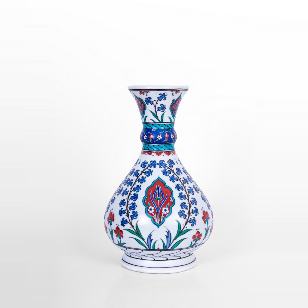 Vase with hatai pattern ;32;24 - FLORAL