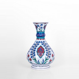 FLORAL Vase with hatai pattern ;32;24
