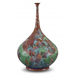 VASE Vase with miniature scene ;55;33;;;