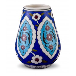 FLORAL Vase with Rumi pattern ;14;10;;;