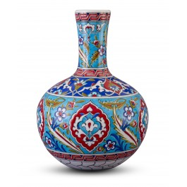 FLORAL Vase with Rumi pattern ;30;20;;;