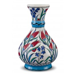 FLORAL Vase with tulip pattern ;34;17;;;