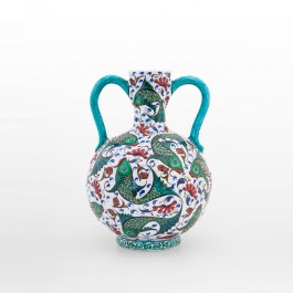 ARTIST Saim Kolhan Water bottle with fishes ;35;22
