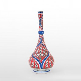 ARTIST Meliha Coşkun Waterbottle with floral pattern ;43;20